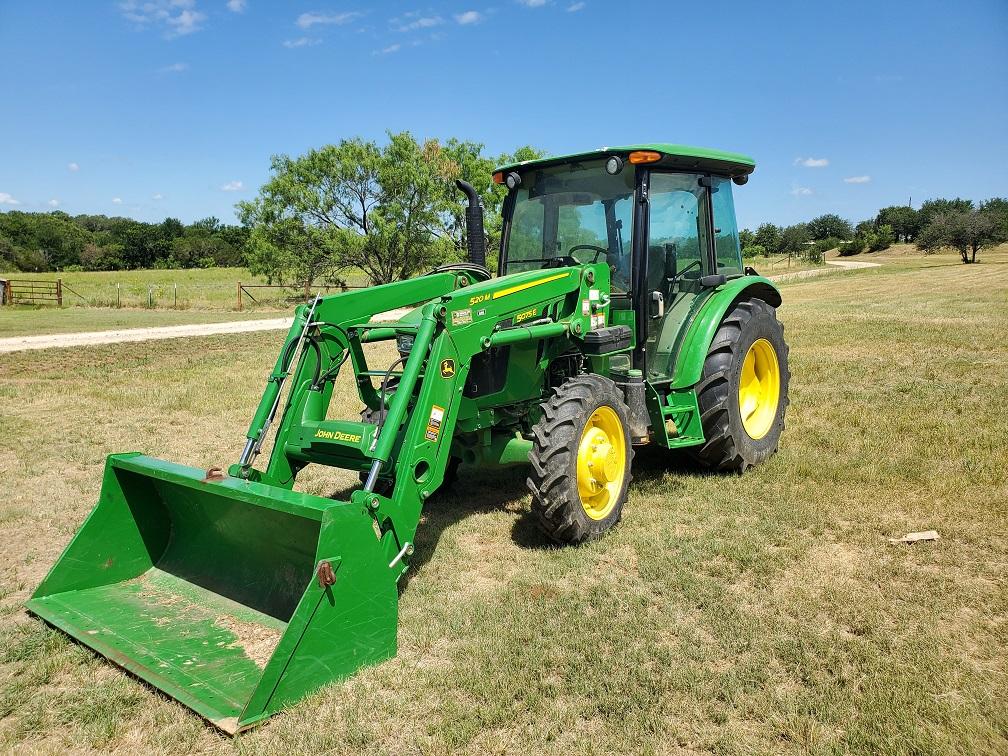 John Deere Used Tractor 5075E